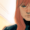 snickfic: half-portrait of Natasha (art by Noto) (Natasha)
