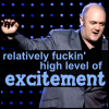 "marginaliana: Dara O'Briain - ""a relatively fuckin' high level of excitement"" (Dara - excitement!)"