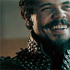 muccamukk: Porthos laughing victoriously. (Musketeers: I Win!)