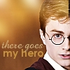cherieamour: there goes my hero (harry potter)