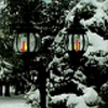 dawn_felagund: Lamppost in the winter snow. (winter lamppost)