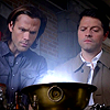 kate: Cas and Sam work a spell (SPN: Cas and Sam work a spell)
