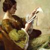 med_cat: (woman reading)