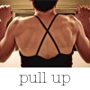 rydra_wong: Tight shot of a woman's back (Krista of stumptuous) as she does a pull-up. (strength -- pull-up)