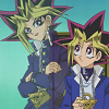 alexseanchai: Yuugi and Yami Yuugi talking (Yu-Gi-Oh! Yuugi and Yami Yuugi talking)