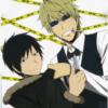 queerwolf: Shizuo and Izaya from the anime Durarara (Shizaya)