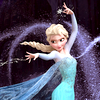 darwin: Queen Elsa, of the film Frozen, blasting ice into the air. (Conjuring winter)