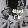 "jumpuphigh: Teddy Bear spanking a baby doll with the text ""Bad Girl!""  Baby bear is in background covering its eyes. (Spanking)"
