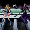 alexseanchai: Dark Magician Girl and Dark Magician (Dark Magician and Dark Magician Girl sid)