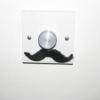 sarkysue: default mustache light switch pic (moustachio)