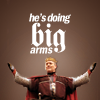 """lorax: Uther Says We Can't All Do Big Arms (Merlin - Uther """"Big Arms"""")"""