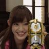 scifisentai: goseiger, eri with her tensouder (eri)