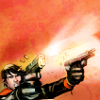musesfool: Jason Todd shooting stuff (but i used a little too much force)