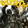 outlineofash: Flailing Darth Vader. (Text - Nooooooooooo)