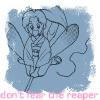"cassowary: Botan from Yu Yu Hakusho, text ""don't fear the reaper"" (Don't Fear the Reaper)"