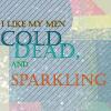 isabelladangelo: (cold dead & sparkling)
