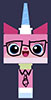 jinian: Unikitty from the Lego Movie in business attire (unikitty)