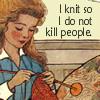 spikewriter: (knit not kill)