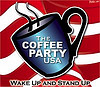 coffeepartyusa: Coffee Party USA logo from the Facebook page and website (Coffee Party)