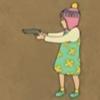 someone: (gun totin girl)