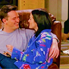 chasethecloudsaway: ([Friends] Chair cuddles (M/C))