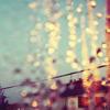 clockfraught: (rain-blurred light)