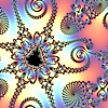 susanreads: Julia set (detail, bright background) (fractal, maths)