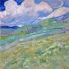 gairid: Van Gogh painting (Art - Van Gogh - Wheatfield)