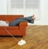 sestree: (feet phone sofa)