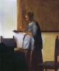 anniegee76: Vermeer's Woman in Blue, reading (Reading)