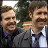 oxfordtweed: Andy Cartwright and Andy Wainwright grinning widely (:D - Andes)