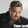 oxfordtweed: Photo of Eddie Izzard with 'Time Lord' written in the lower right (Eddie Izzard - Time Lord)