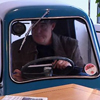 oxfordtweed: Jeremy Clarkson inside a Peel P50 microcar (Jezza - Peel P50)