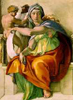oursin: The Delphic Sibyl from the Sistine Chapel (Delphic sibyl)