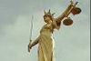 oursin: Photograph of the statue of Justice on top of the Old Bailey, London (Justice)