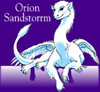 ext_4968: A dragon labeled with the name Orion Sandstorrm (sig)