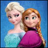 cereta: Elsa and Anna from Frozen, back to back (Elsa and Anna)