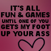 conuly: (fun and games)