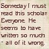 conuly: (scholar everyone)