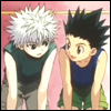 caffinatekillua: (Gon: working together)