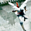 nano_moose: Assassin's Creed. Altair plunges down with his hidden blade unsheathed. His shadow is that of an eagle diving. (talon)