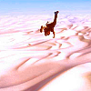 nano_moose: Uncharted. Nathan Drake falling out of a plane over the Rub' al Khali because he's a dumbass. ([U] nathan drake in short)