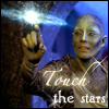 icepixie: ([Farscape] Zhaan touch stars)