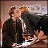 icepixie: ([CitC] Caroline Richard desk kiss)