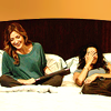 icepixie: ([R&I] Jane Maura bed laughing)