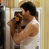 toblameforit: Drinking orange juice from the carton. (+= endeavouring to make breakfast)