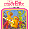 "xenomantid: This icon is based on one of those ""Choose Your Own Adventure"" book covers. (Robot Disco) (Default)"