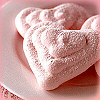 me_ya_ri: heart shaped cookies (Sweet Heart Cookies)