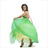 rose_griffes: Freema Agyemang wearing a gorgeous green dress (Freema: green dress)