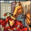 valtyr: (Tony and a pony)